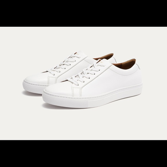 55268cb592 new republic Shoes | Kurt Leather Sneakers White | Poshmark